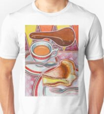 Eroica Britannia and Bakewell Pudding on Pink T-Shirt