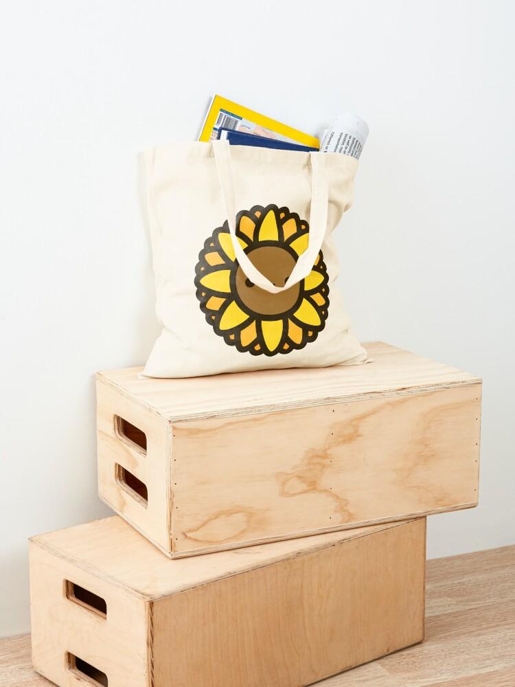 Alternate view of Cute sunflower Tote Bag