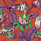The Sea Garden - retro pop by Lidija Paradinovic Nagulov