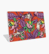 The Sea Garden - retro pop Laptop Skin