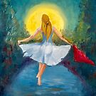 dancing in the moonlight (study) by Kostas Koutsoukanidis
