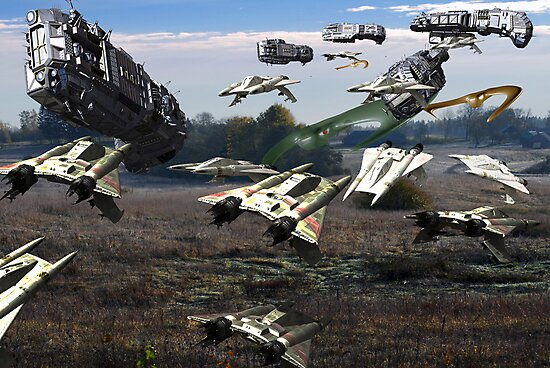 Battle Earth by Antanas