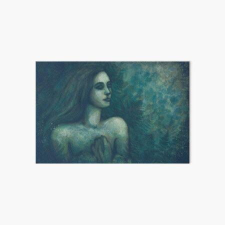 Lady of the Ferns Art Board Print