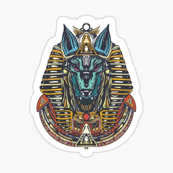Anubis. God Ancient Egypt Sticker