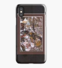 ABSTRACT SNOW SCENE iPhone Case/Skin