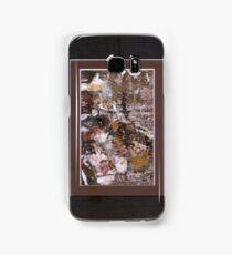 ABSTRACT SNOW SCENE Samsung Galaxy Case/Skin