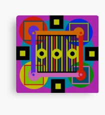 Simple Equalibrium Canvas Print