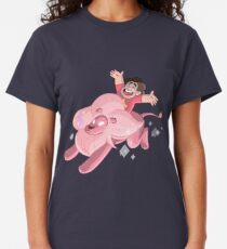 Steven and Lion over the rainbow Classic T-Shirt