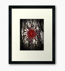 Dark Christmas Framed Print