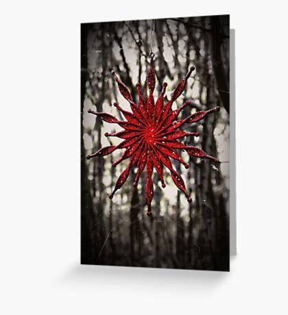 Dark Christmas Greeting Card