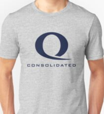 Queen Consolidated shirt – Q logo, Arrow, blue Unisex T-Shirt