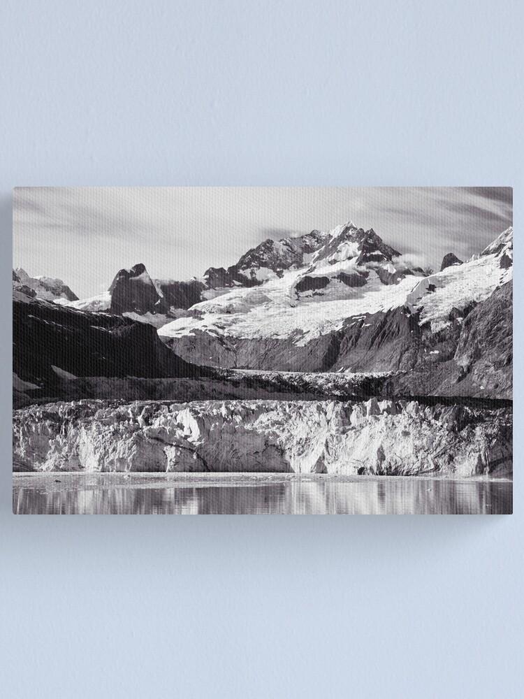 Alternate view of Johns Hopkins Glacier 2010 Canvas Print