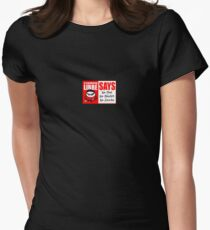 Now is the season to be...  Womens Fitted T-Shirt