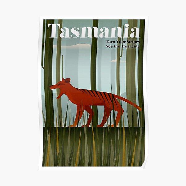 TASMANIA; Vintage Travel and Tourism Advertising Print Poster