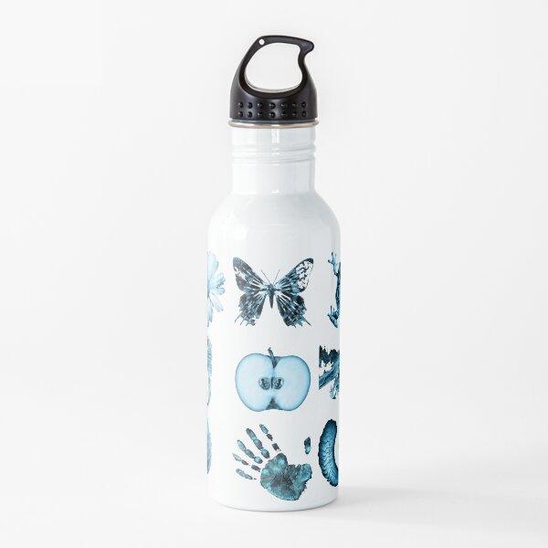 All nine glyphs of Fringe Water Bottle