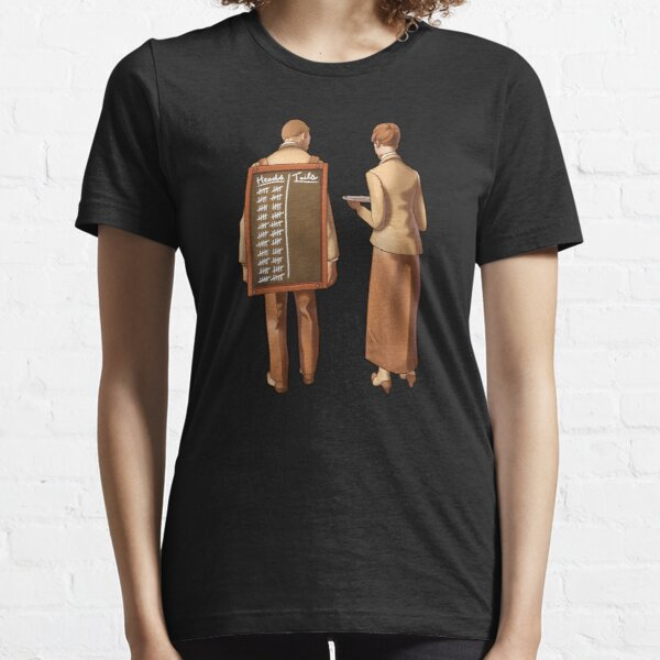 Heads or tails? Essential T-Shirt