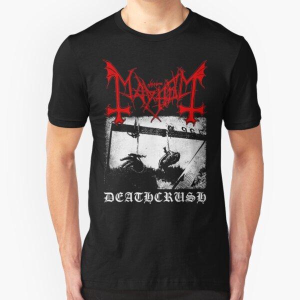 Mayhem Deathcrush Euronymous Dead Varg Slim Fit T-Shirt