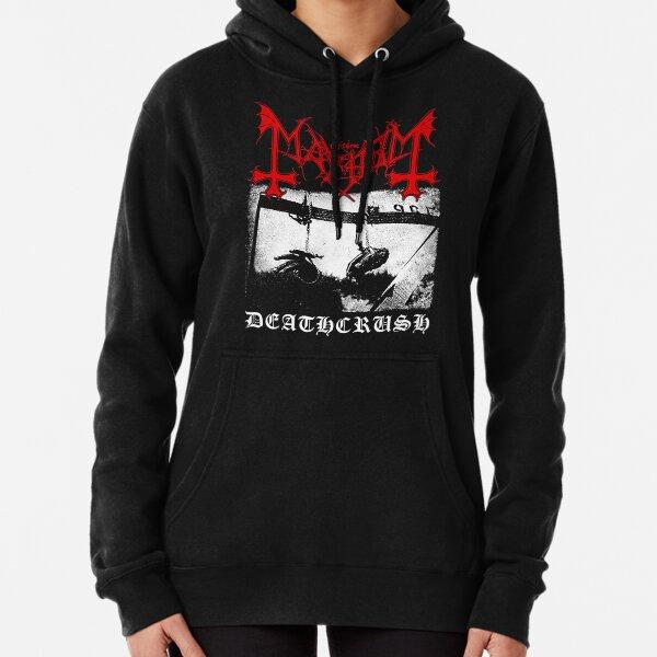 Mayhem Deathcrush Euronymous Dead Varg Pullover Hoodie