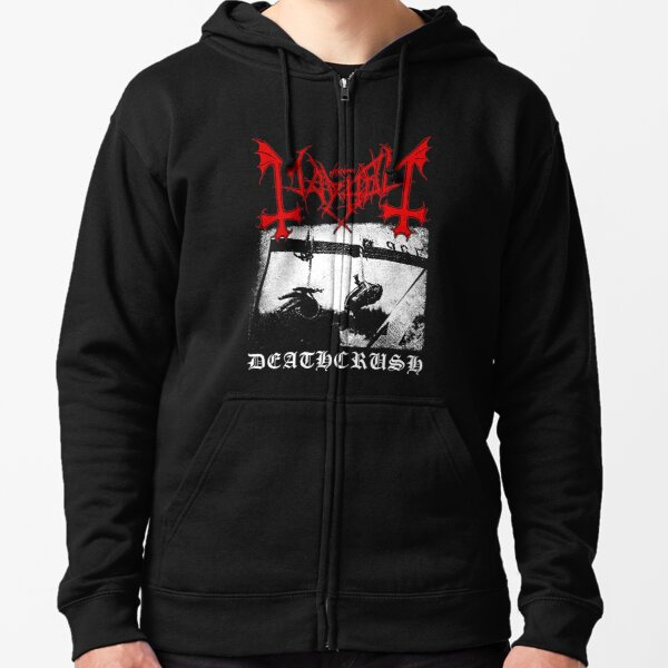 Mayhem Deathcrush Euronymous Dead Varg Zipped Hoodie