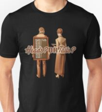 Heads or tails? 2 Unisex T-Shirt