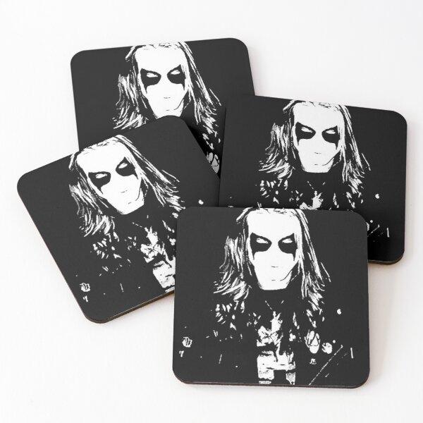 Mayhem Black Metal Dead Per Yngve Ohlin Coasters (Set of 4)