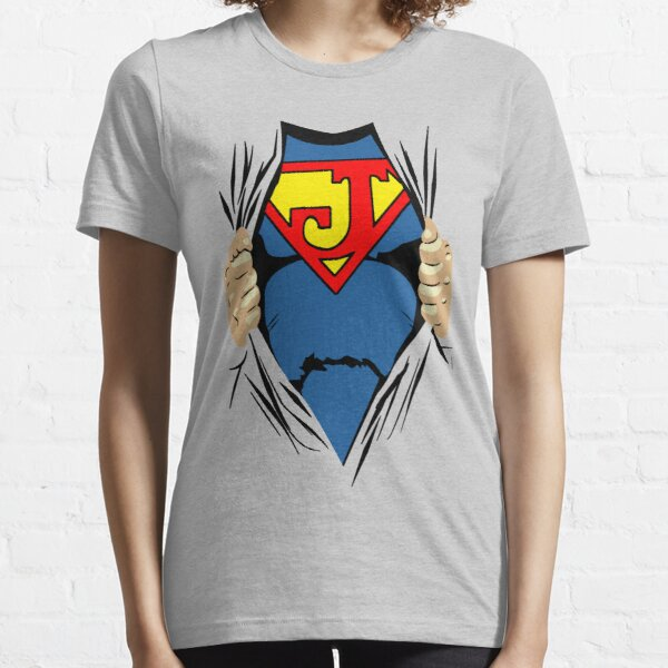 Super Name start with J for Super Baby Boy and Girl Essential T-Shirt