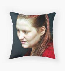 Jules! Throw Pillow