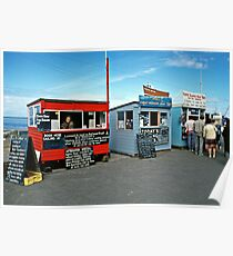 Farne Islands boat trips, Seahouses, NE England, 1980s. Poster