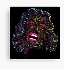 Marilyn on Acid Canvas Print