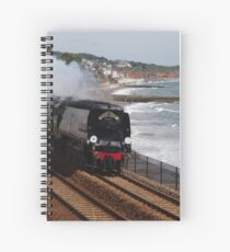 Southern Railway 34067 'Tangmere' at Dawlish Spiral Notebook