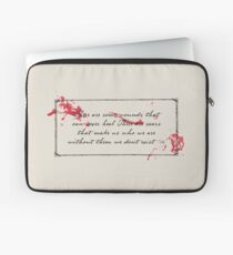 Penny Dreadful Bloody Quote, Lily Laptop Sleeve