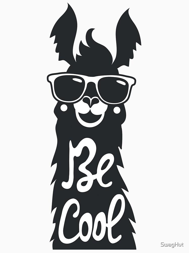 Sei cool, Lama mit Sonnenbrille von SwagHut