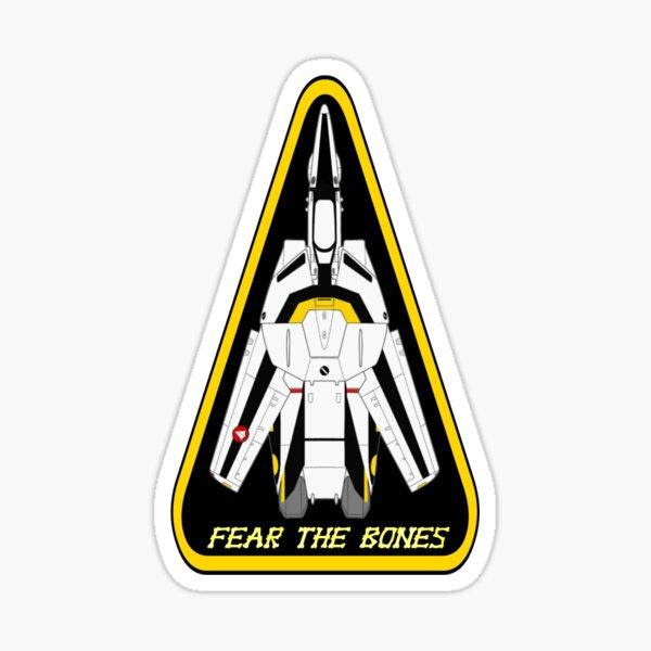 Macross Robotech Roy Focker  Sticker