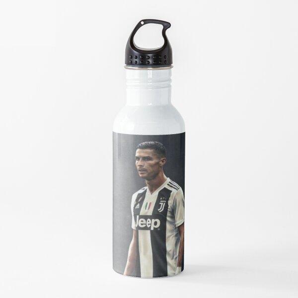 Una firma perfecta de Cristiano Ronaldo Botella de agua