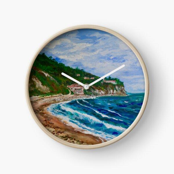 Burnout Beach, Palos Verdes Pennisula Clock
