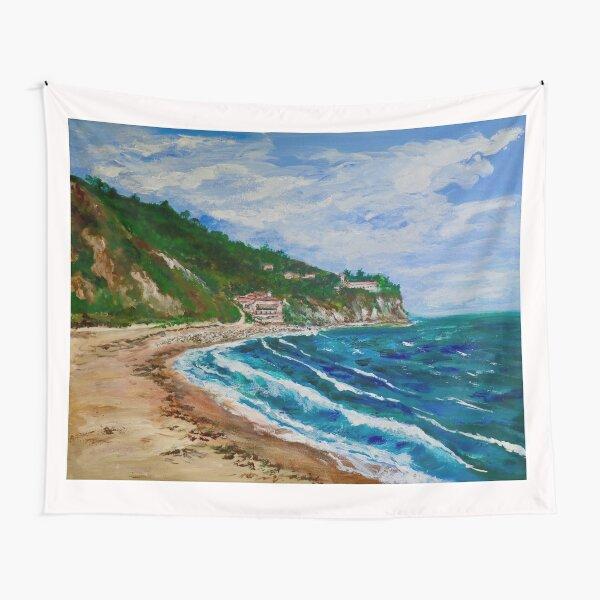 Burnout Beach, Palos Verdes Pennisula Tapestry