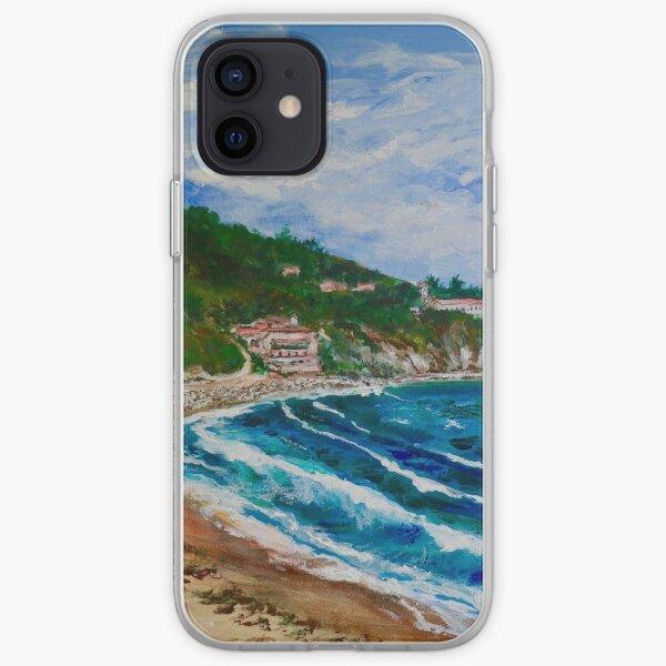 Burnout Beach, Palos Verdes Pennisula iPhone Soft Case