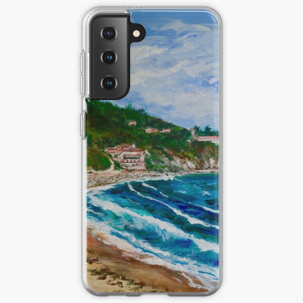 Burnout Beach, Palos Verdes Pennisula Samsung Galaxy Soft Case