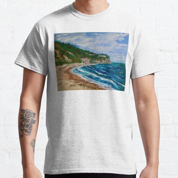 Burnout Beach, Palos Verdes Pennisula Classic T-Shirt