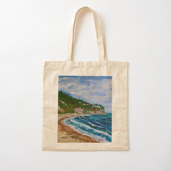 Burnout Beach, Palos Verdes Pennisula Cotton Tote Bag