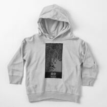 Map of Tokyo Toddler Pullover Hoodie
