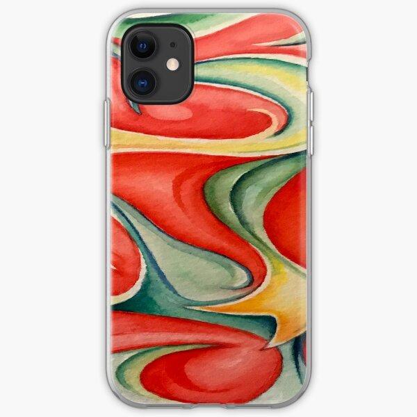 Acuarela 3 Funda blanda para iPhone