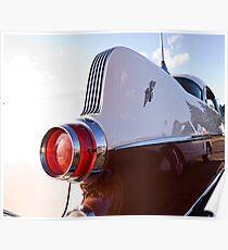 V8 Poncho Poster