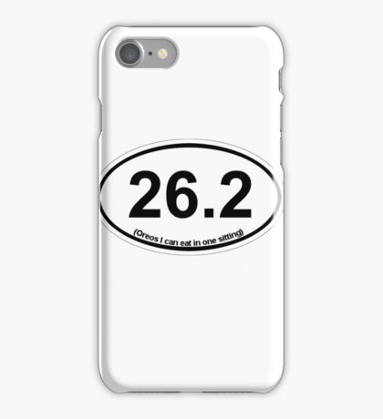 26.2 (Oreos I can eat in one sitting) iPhone Case/Skin