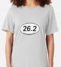 26.2 (Oreos I can eat in one sitting) Slim Fit T-Shirt