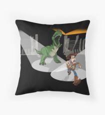 Rexs Rage Throw Pillow