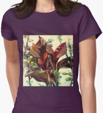 Flor Camiseta entallada
