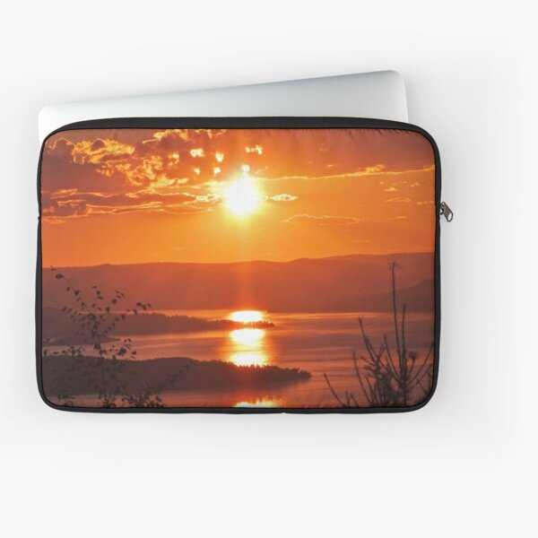 Sunset from Boulder Road Laptop Sleeve