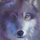Pathfinder - Wolf totem by Cheryl White