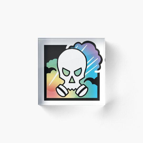Smoke Pride Acrylic Block